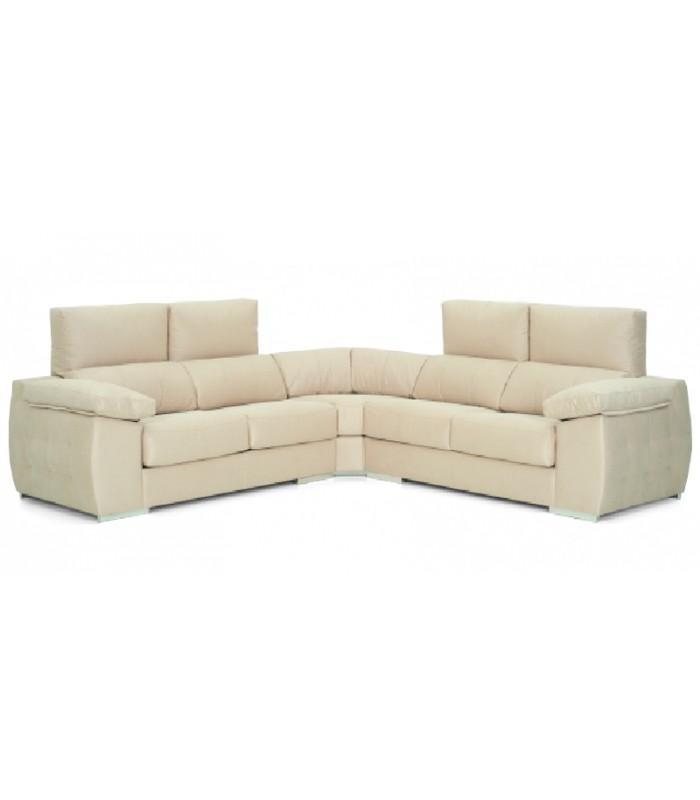 Sof rinconera rimini 5 plazas y estilo moderno - Sofa rinconera moderno ...