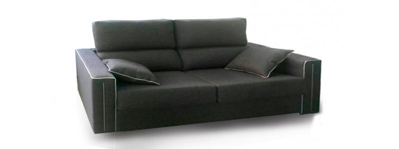 Granfort ® - Sofá cama VOLTA tapizado en tela con diseño elegante