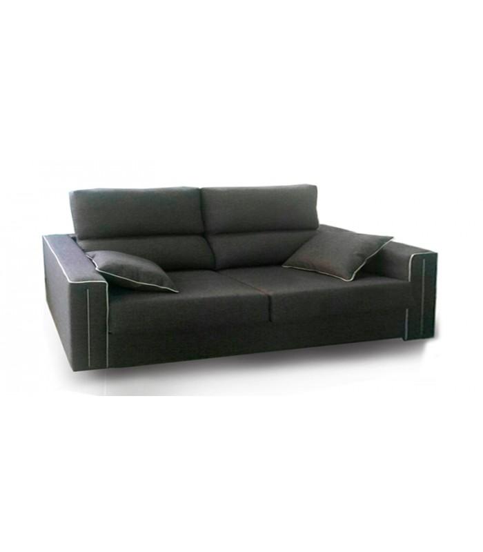 Sof cama ribeteado volta dise o elegante - Artesanos del sofa ...