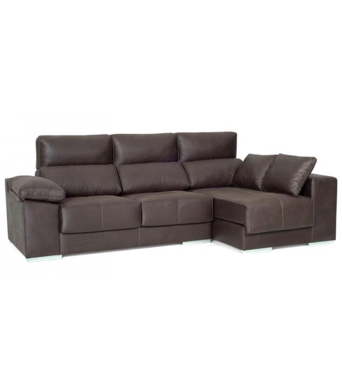 Sof cheslong carpi de estilo moderno - Artesanos del sofa ...