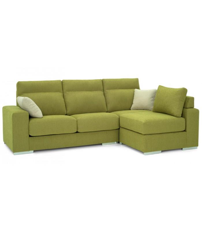 Cheslong 3 plazas lecco con puff reversible - Artesanos del sofa ...