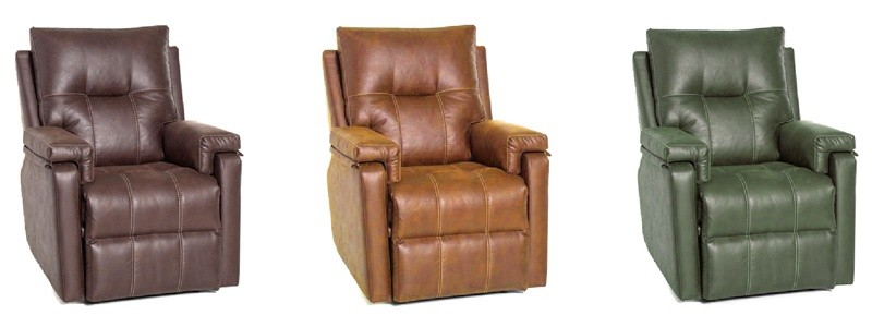 Granfort ® - Sillón relax IMPERIA diseño elegante con reposapiés