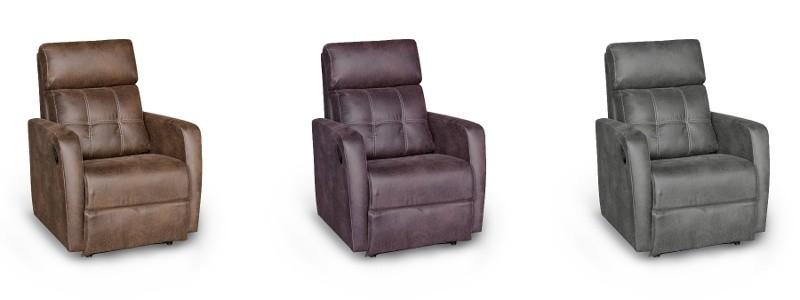 Granfort ® - Sillón relax LICCA con sistema motorizado opcional