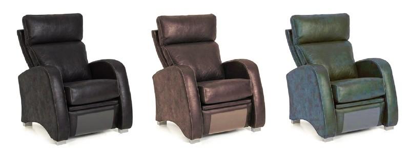 Granfort ® - Sillón relax FERRARA con diseño vanguardista
