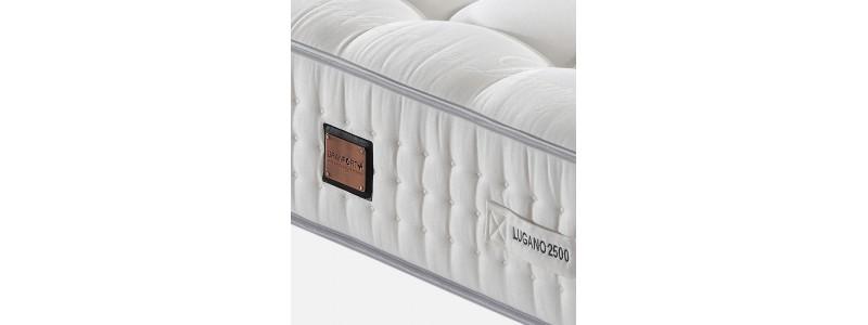 Granfort ® - Detalle Colchón Lugano 2500 con Seda y Cashemere