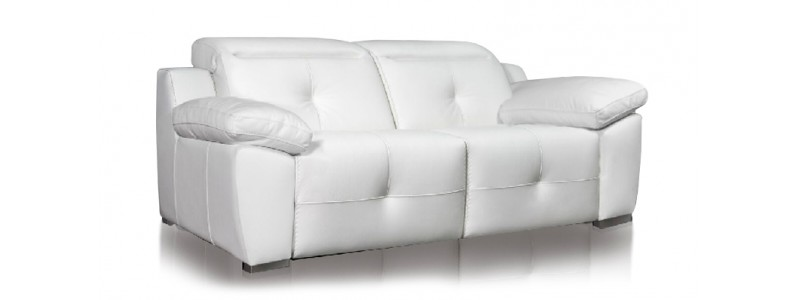 Granfort ® - Sofá relax 3 plazas DONNA diseño vanguardista