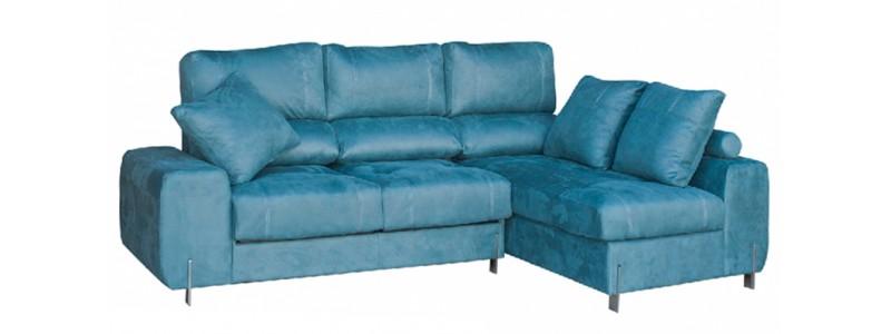 Granfort ® - Sofá chaiselongue PISA con asientos extraíbles